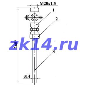 Отборы давления по СЗЛ14-2-01(02)