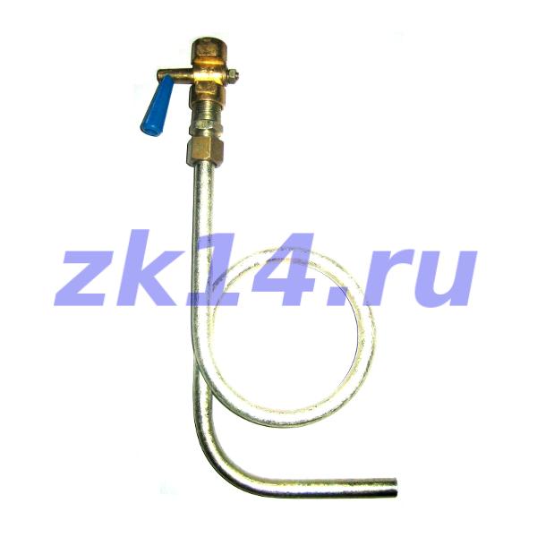 Закладная конструкция ЗК14-2-4-02 уст.1г 1,6-100-Ст.20-МУ(11Б18бк) отборное устройство давления угловое на t свыше 70°С, Pу1,6МПа
