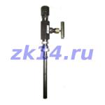 Отборные устройства предназначены для установки манометра, измеряющего давление пара, газа или жидкости при давлении 1,6МПа-40МПа и температуре рабочей среды от 0 до 70°С, на горизонтальном трубопроводе.