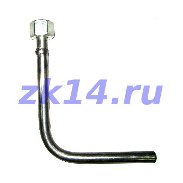 70-МУ-12Х18Н10Т(ОУ2) Трубка импульсная угловая М20х1,5(В) / ОС100в-03-Н
