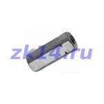 Соединение со стяжной муфтой для установки манометра