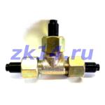 Соединение тройниковое проходное НСТ14-М20х1,5 Ст.20