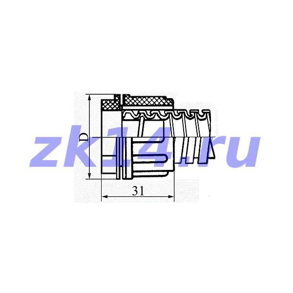 Соединение металлорукав-короб СМК-18