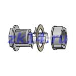 Соединение металлорукав-короб СМК-15