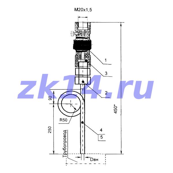 Закладная конструкция ЗК14-2-14-2009 С16-200П